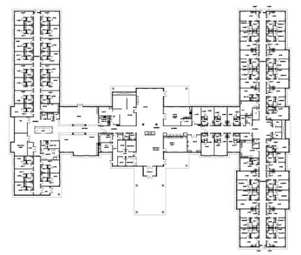 Besser Senior Living Community Floorplan